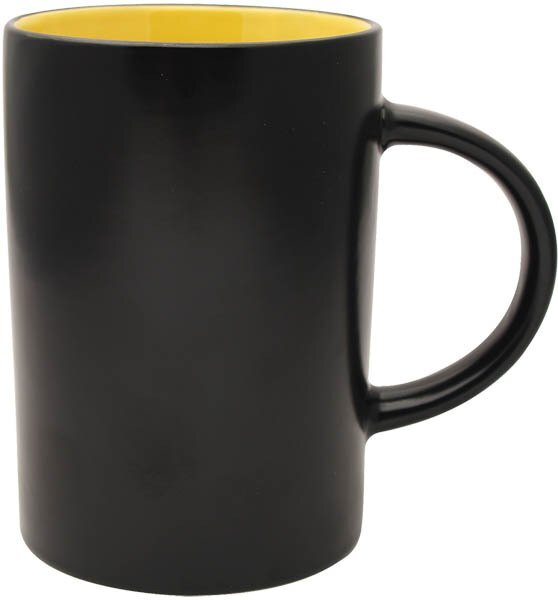 Midnight Café Ceramic Mug, 15oz.
