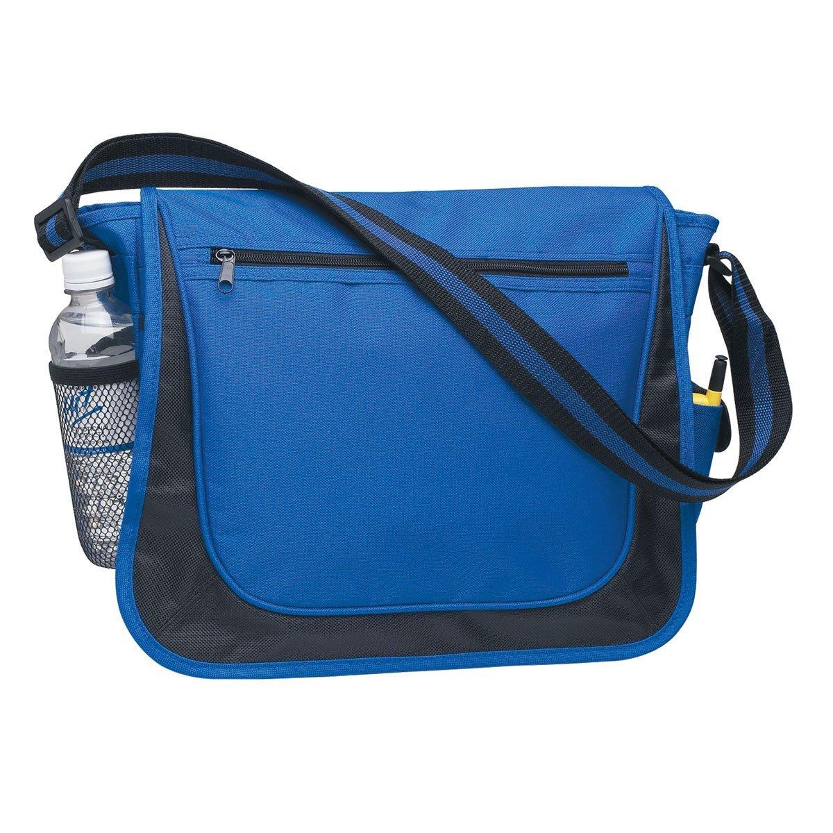 Striped Strap 600D Polyester Messenger Bag