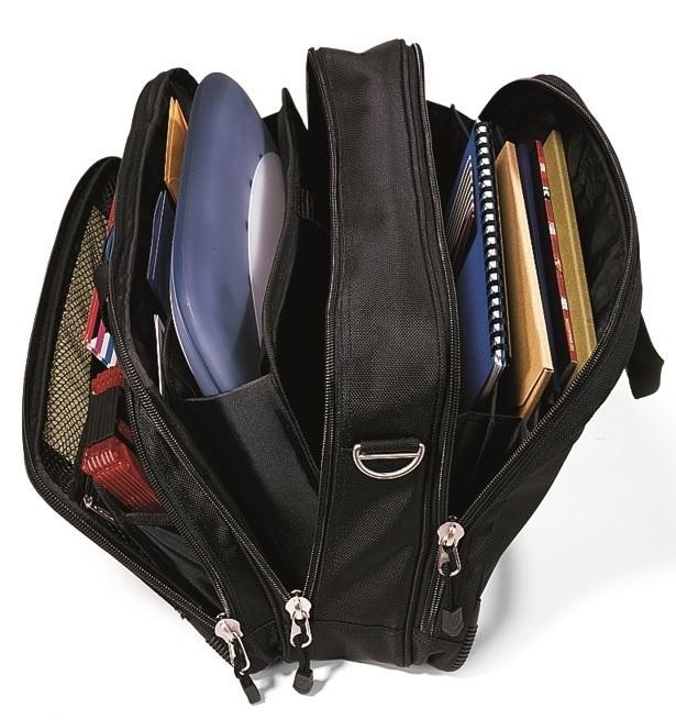 "Travis & Wells™ Ballistic 14"" Computer Bag"