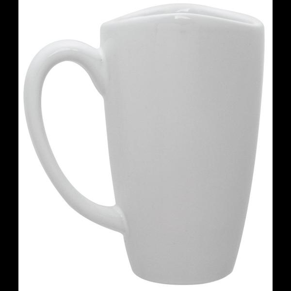 Smile Café Grande Ceramic Mug, 17oz.