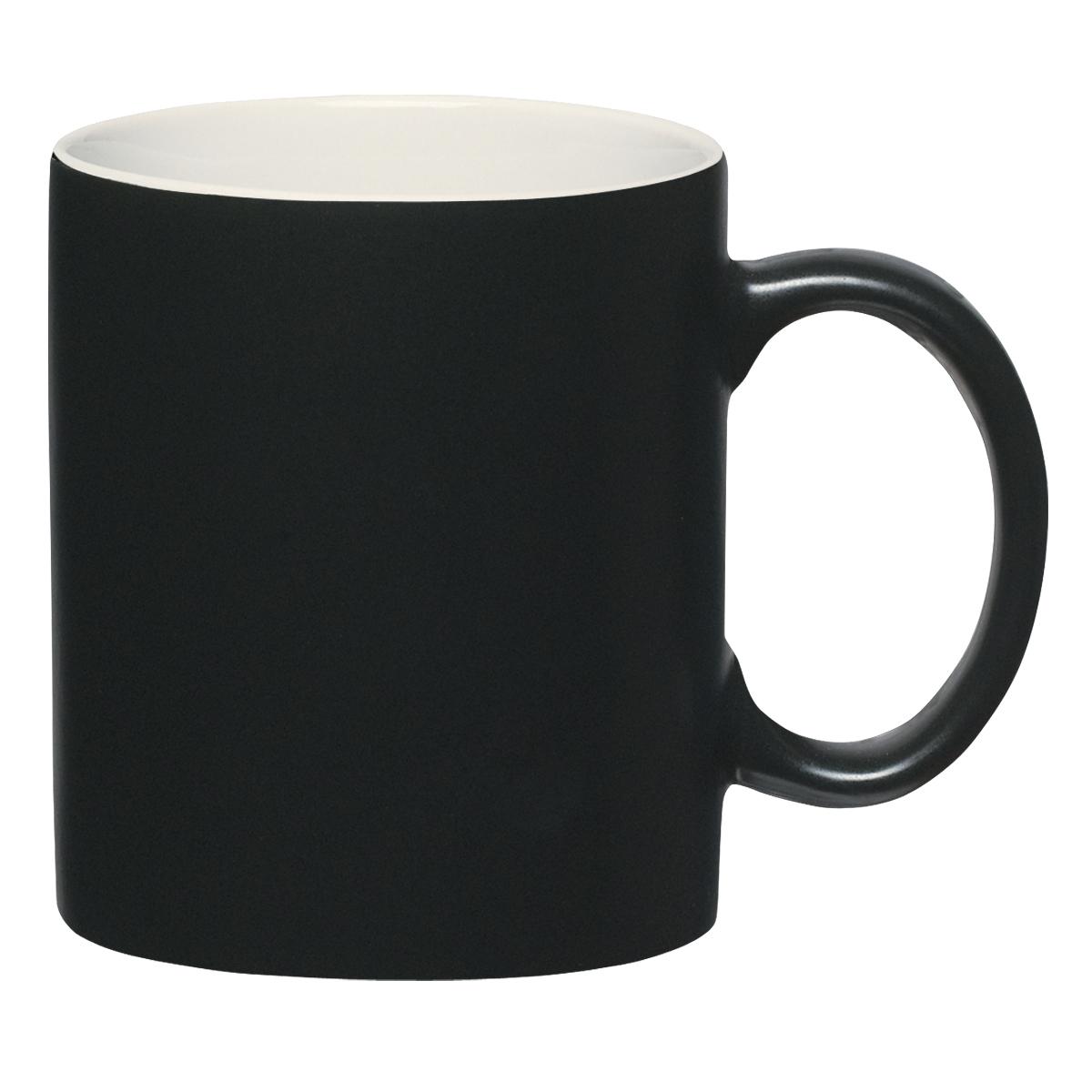 Cosmic Black Ceramic Mug, 11oz.