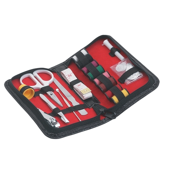 Sewing & Manicure Kit with Case