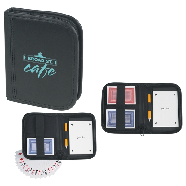 Playing Card Set with Case