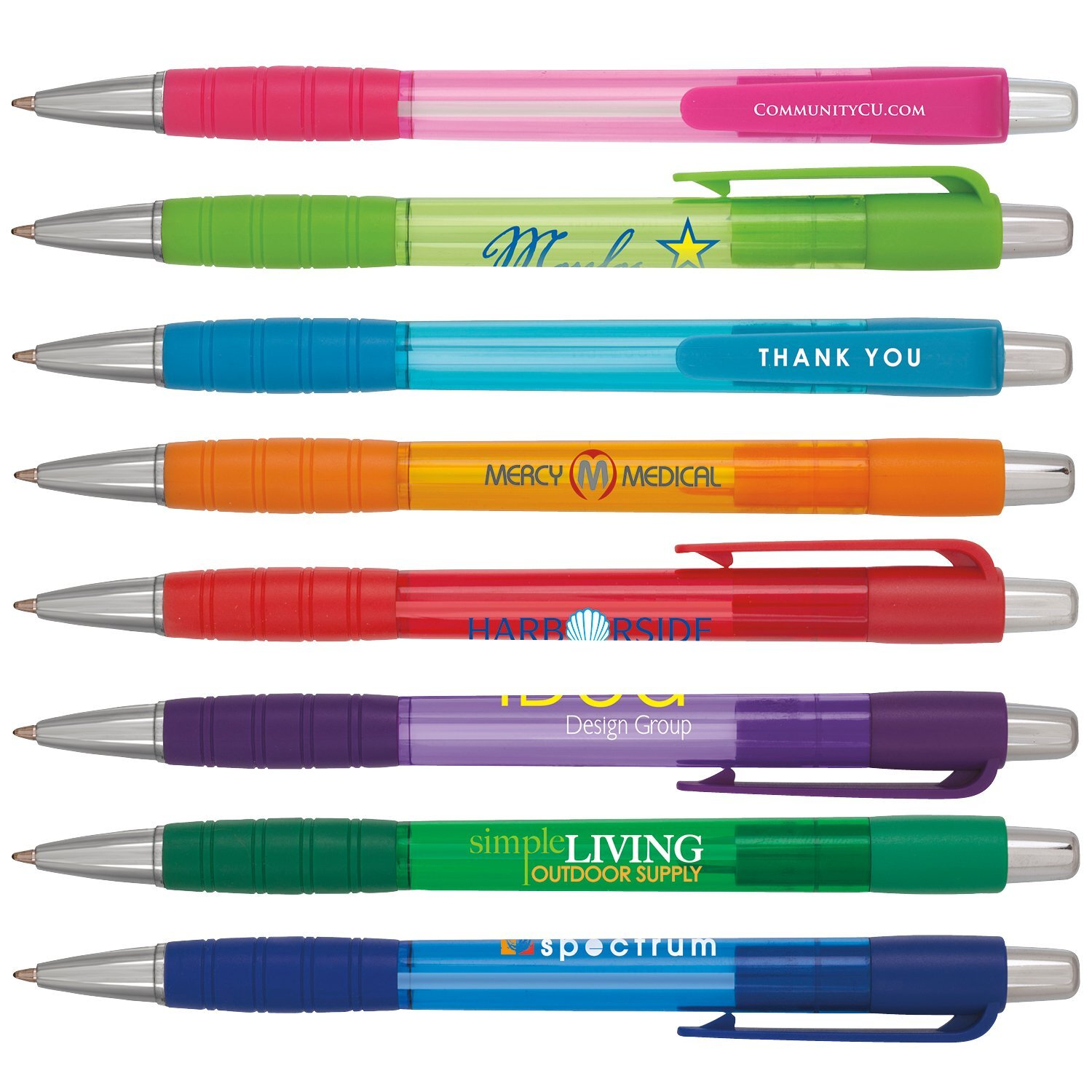 Element Translucent Retractable Ballpoint Pen