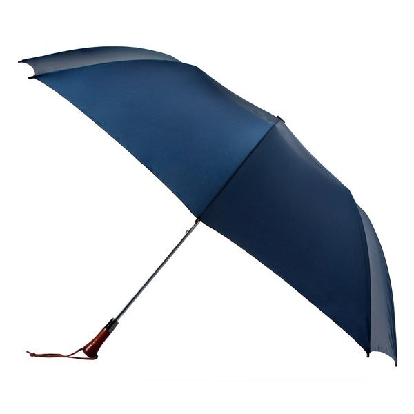 "Woodcrest Automatic Open Folding Umbrella, 60"" Arc"