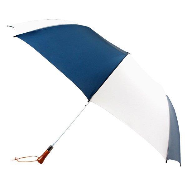 "Woodcrest Automatic Open Folding Umbrella, 60"" Arc"