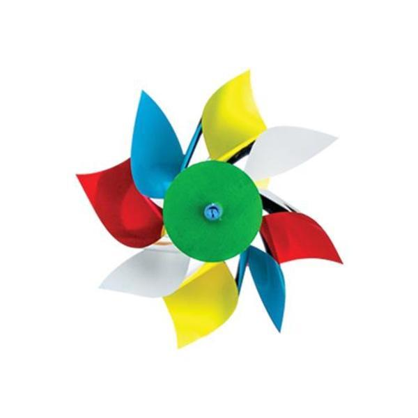 "Bright Multi-Colored Pinwheel, 4"""