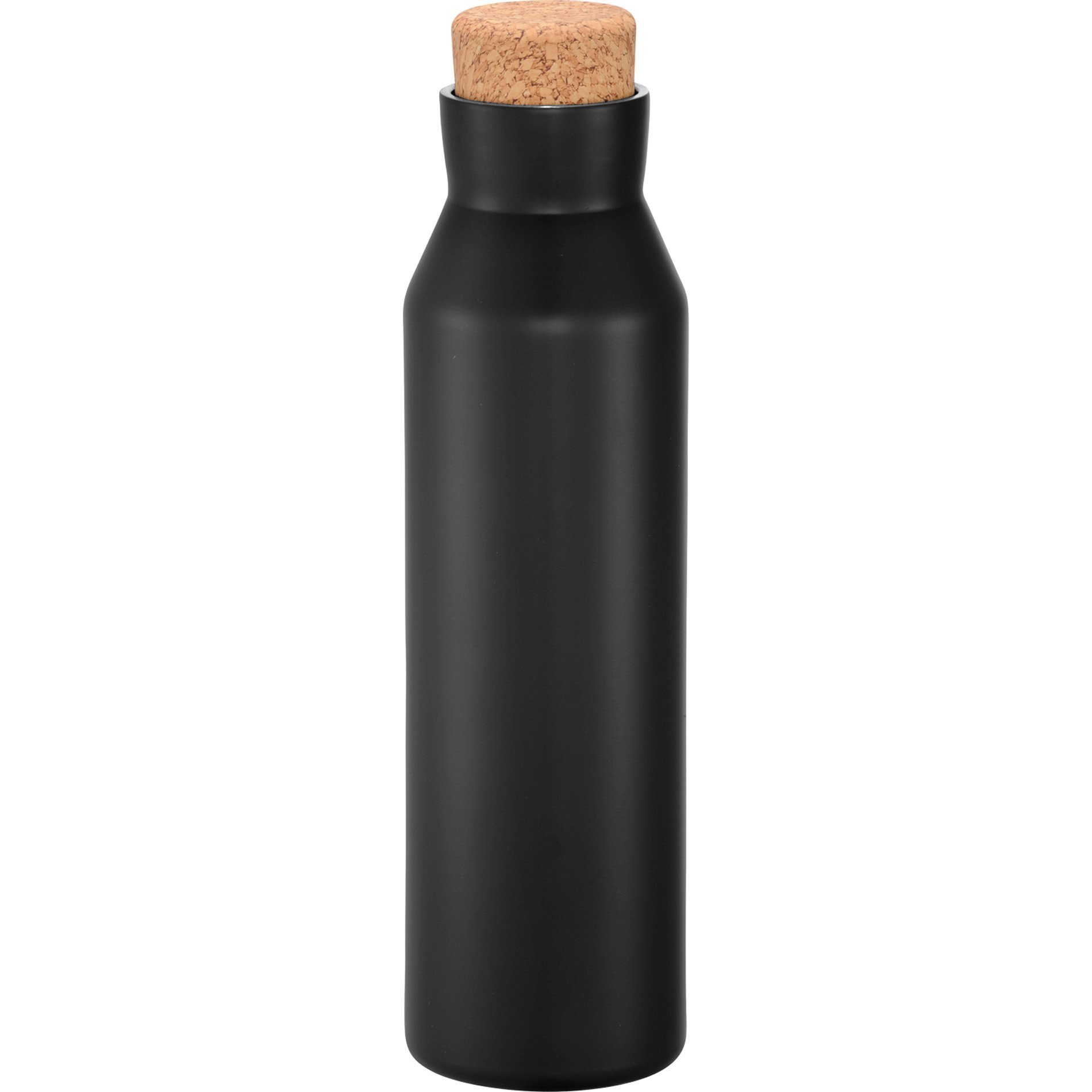 Norse Copper Vacuum Insulated Bottle w/ Cork Top, 20oz. - Free Set Up Charges!