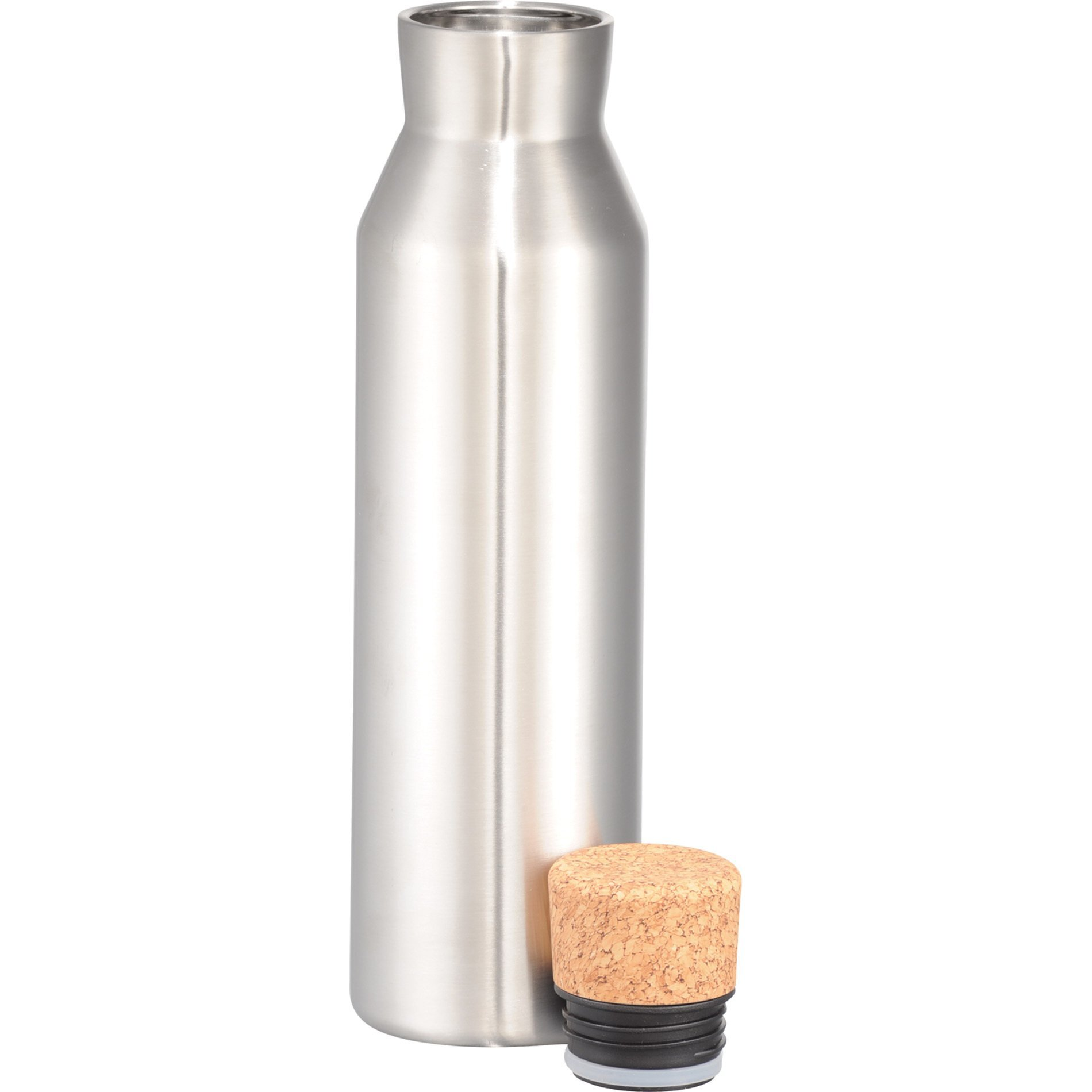 Norse Copper Vacuum Insulated Bottle w/ Cork Top, 20oz