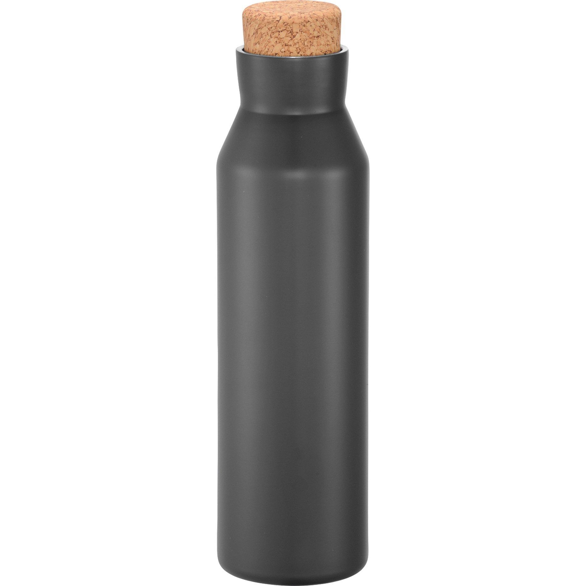Norse Copper Vacuum Insulated Bottle w/ Cork Top, 20oz