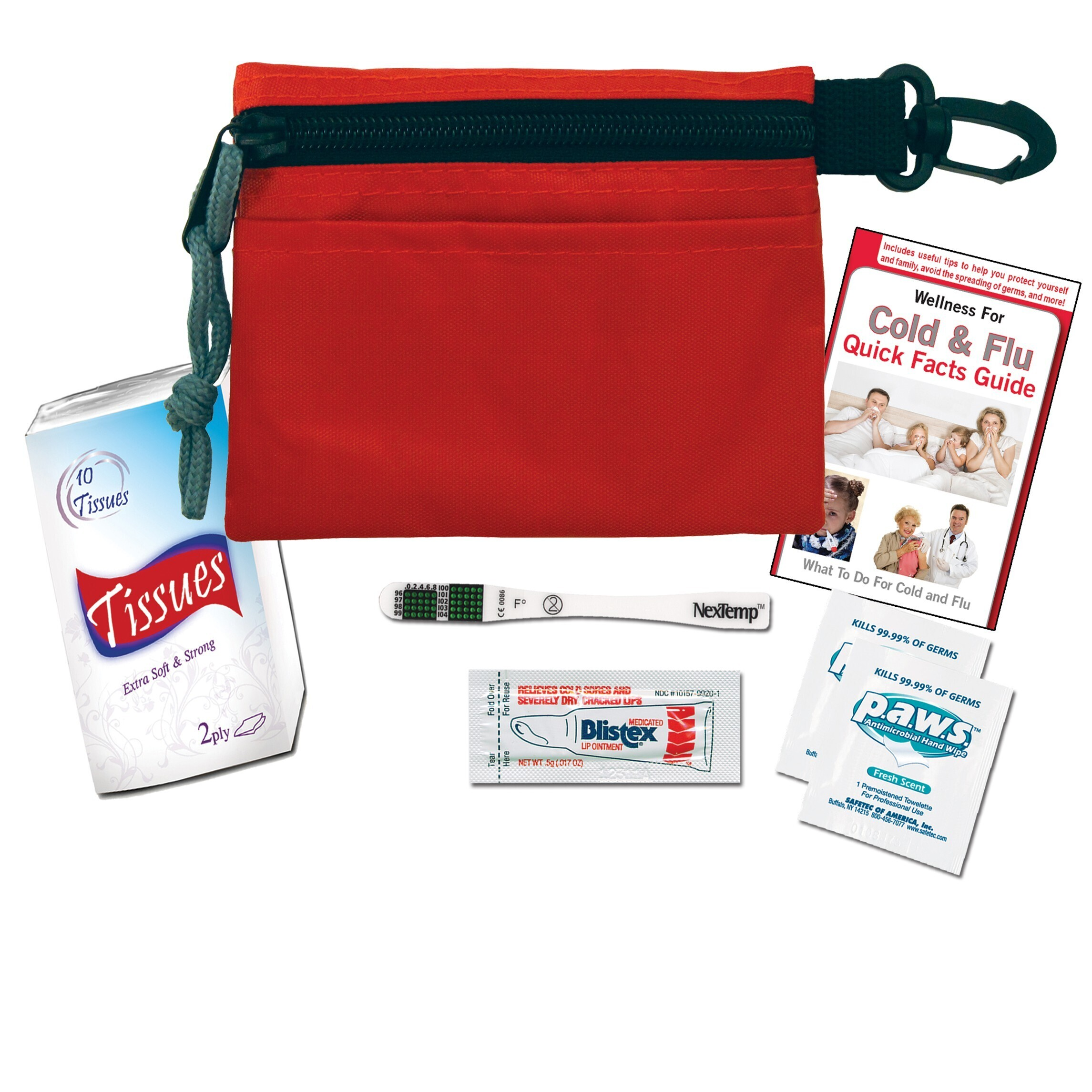 Compact Cold & Flu First Aid Kit