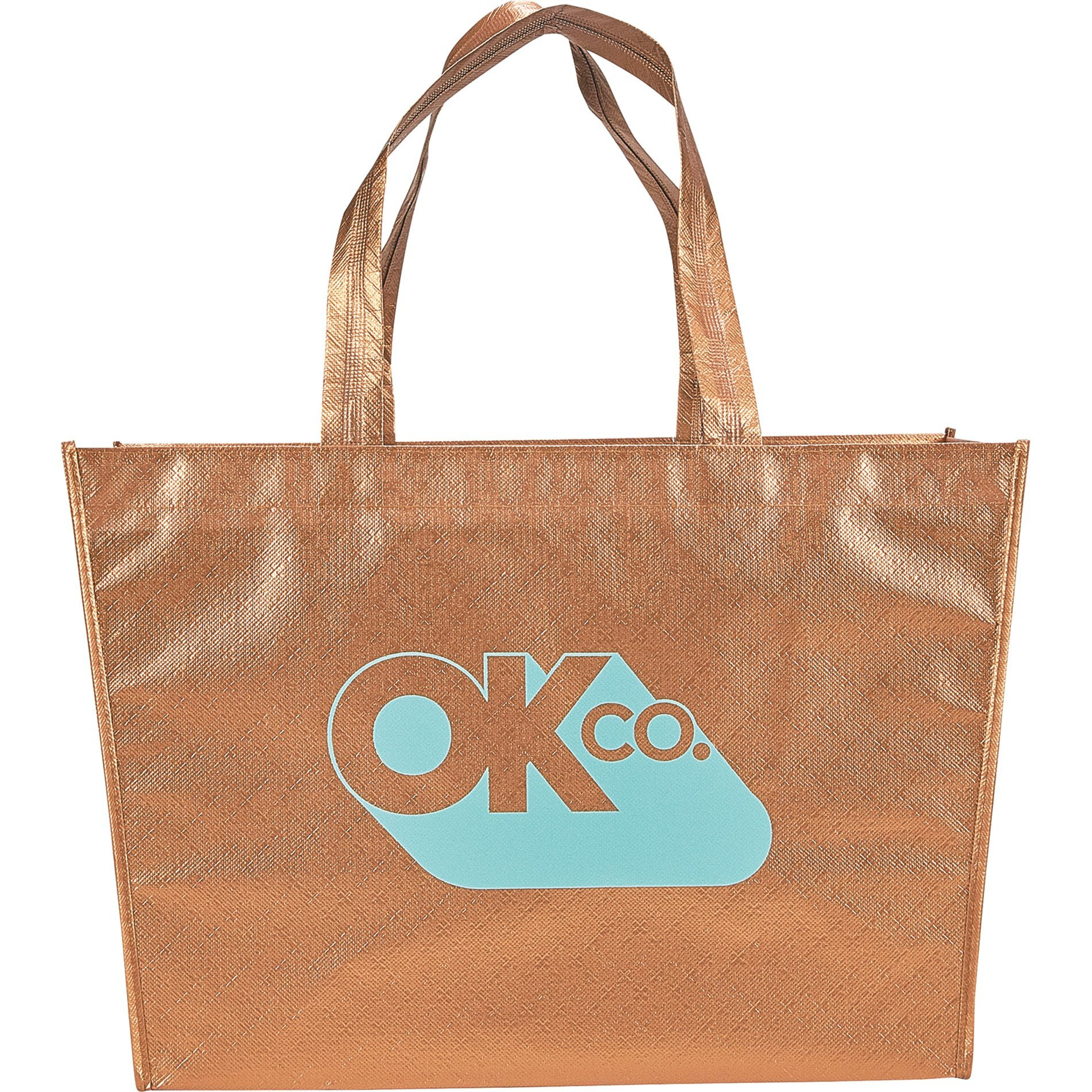 Alloy Laminated Non-Woven Shopper Tote