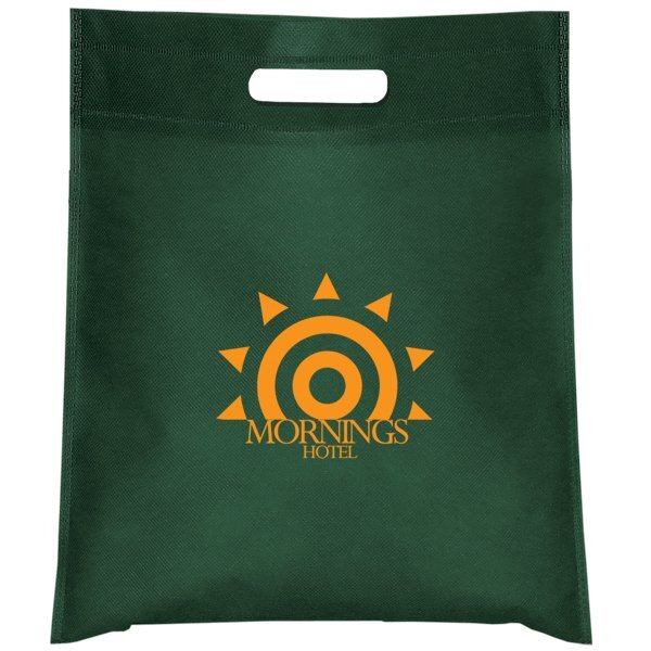 Cut Out Handle Non-Woven Tote