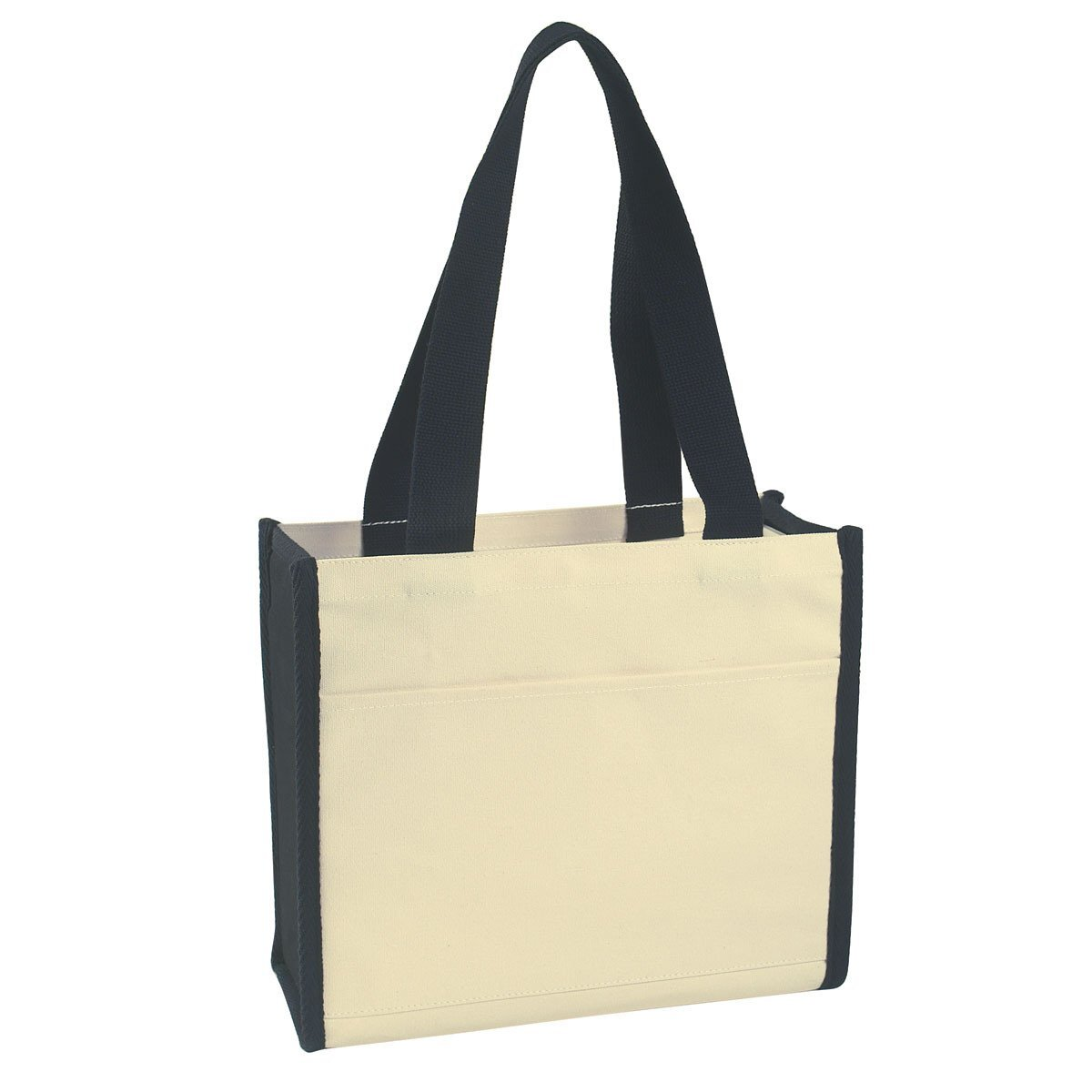 Heavy Cotton Canvas Box Tote