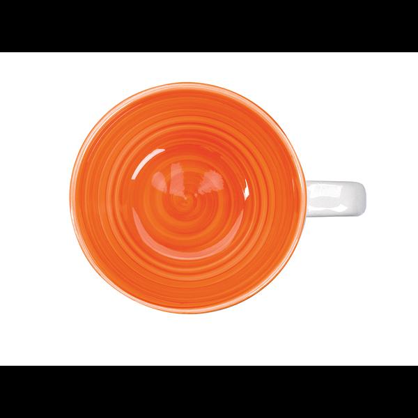 Hand Painted Ceramic Corona Mug, 14oz.