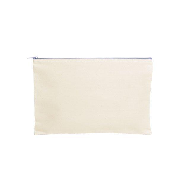 Dottie Cotton Canvas Zippered Document Holder