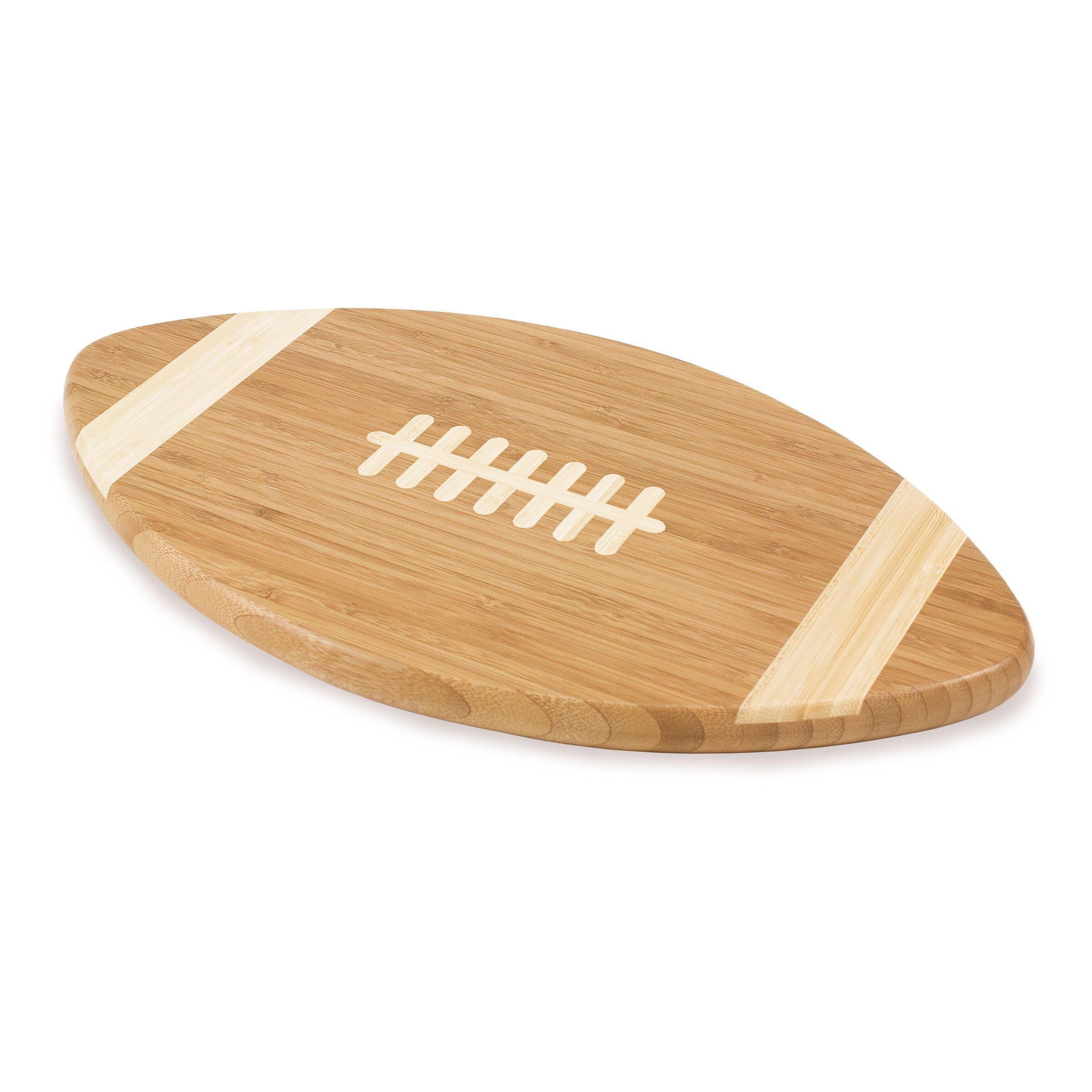 Football Bamboo Cutting Board