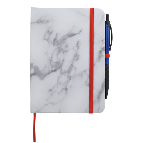 "Carrara Marble Finish Journal, 5"" x 7"""