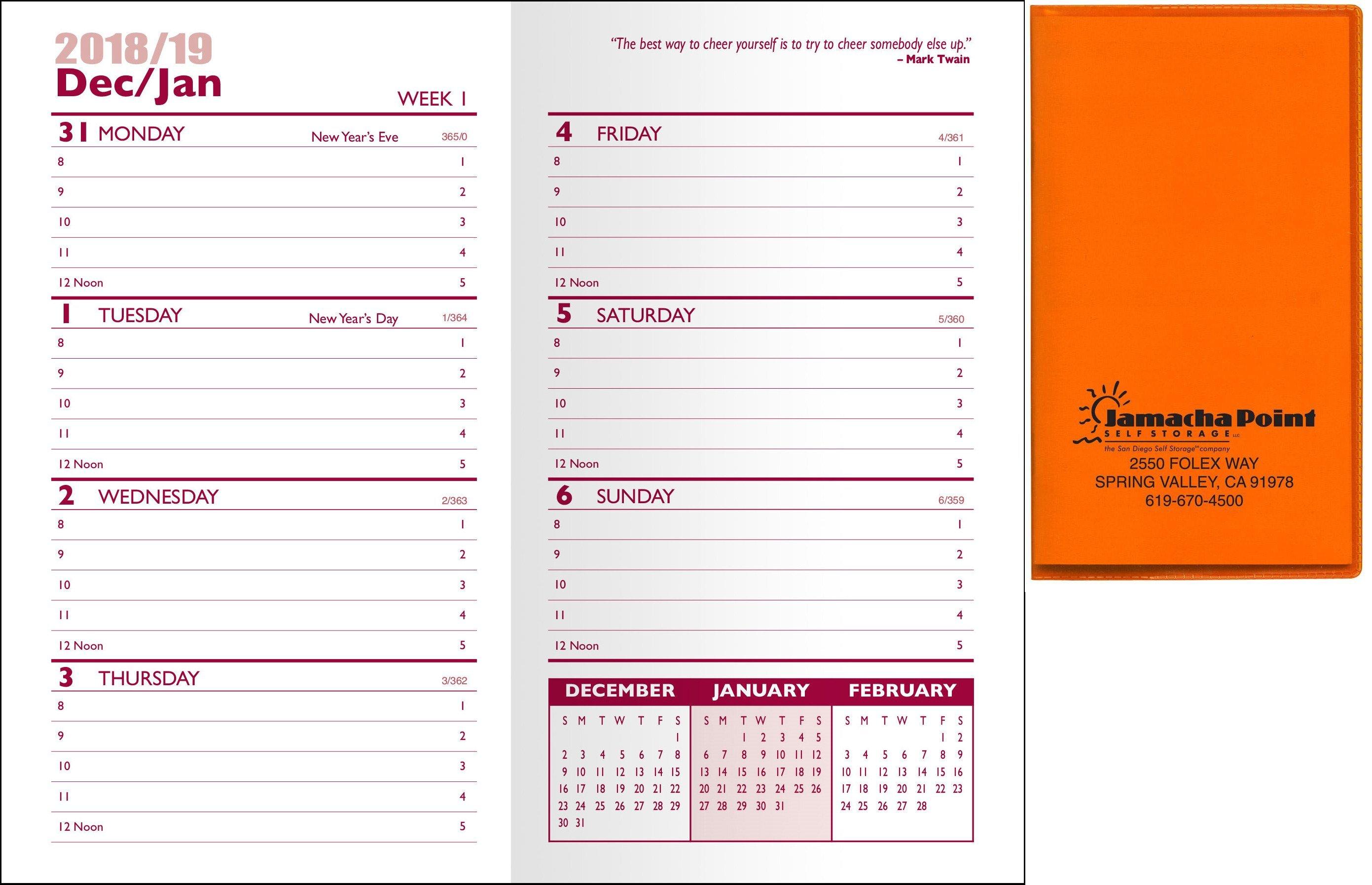 Translucent Weekly Planner