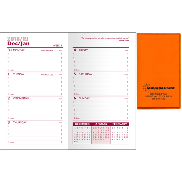 Translucent Weekly Planner