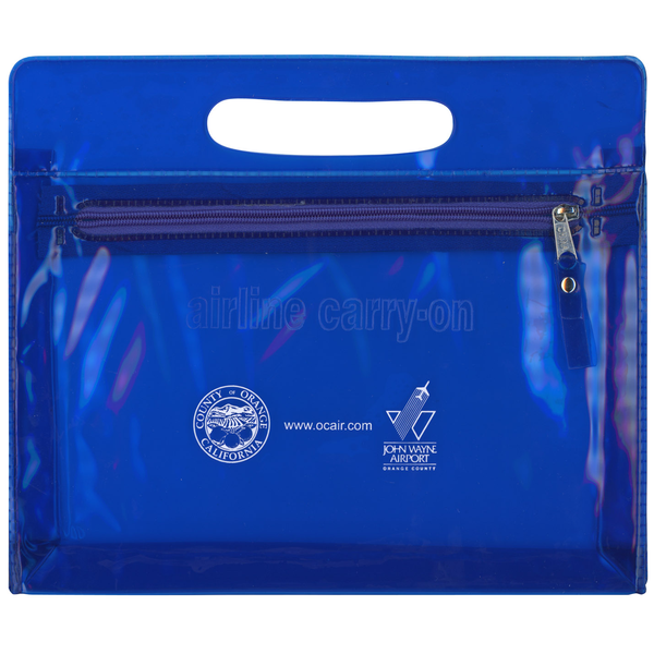 Airline Carry-On Zipper Tote