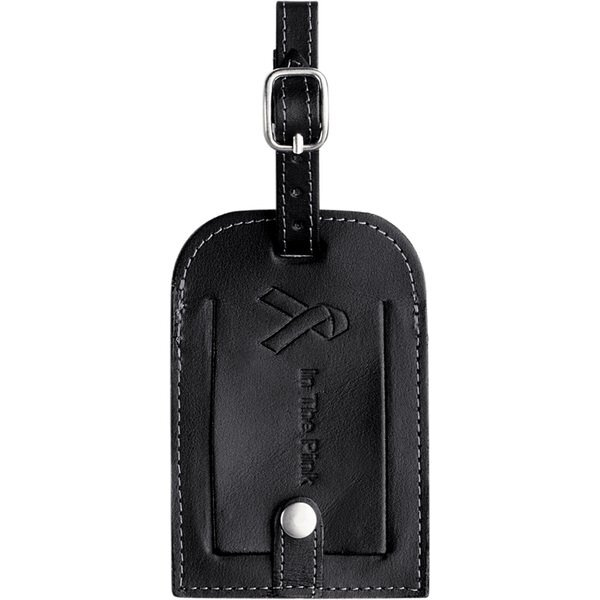 Millennium Leather Luggage Tag