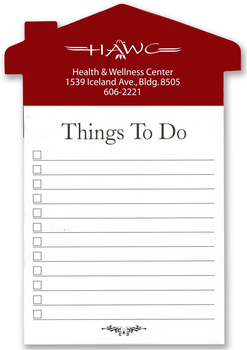 Home Reminder Refrigerator Magnet & Note Pad