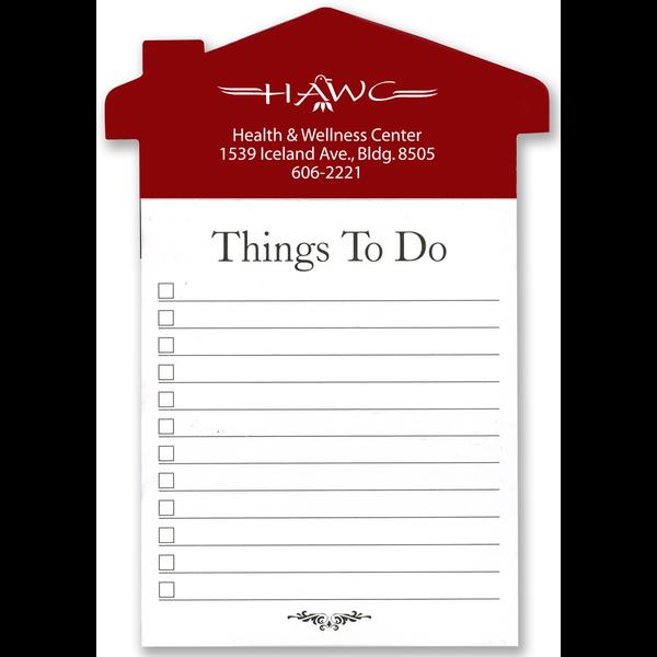 Home Reminder Refrigerator Magnet & Note Pad