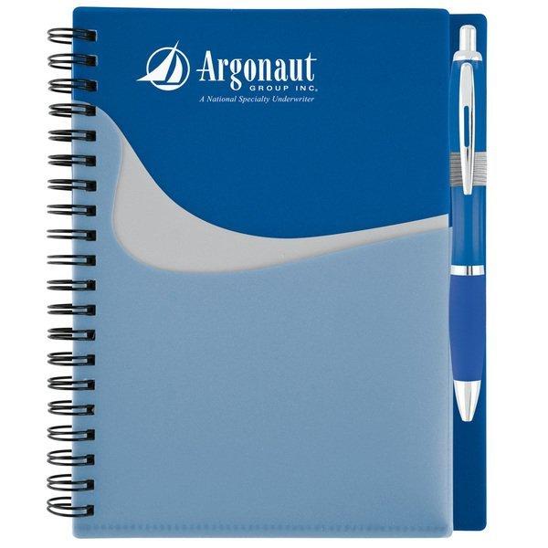 "High Tide Pocket Notebook & Pen Set, 7"" x 6"""
