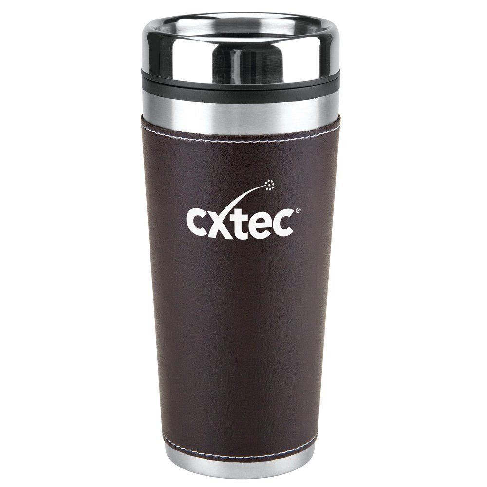 Leatherette Tumbler, 16oz.