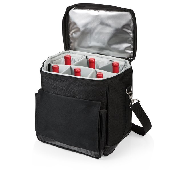 Cellar Six-Bottle Wine Cooler Tote
