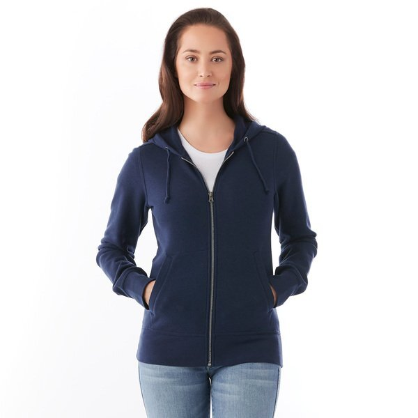 Cypress Ladies' Fleece Zip Hoodie