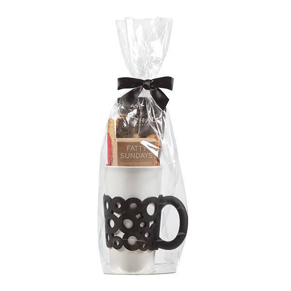 Ceramic Silicone Handle Tumbler & Treat Gift Set