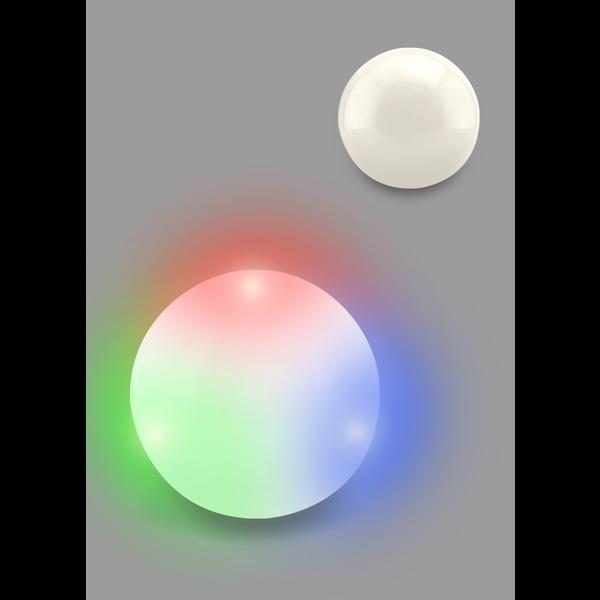Cloud Flashing Light Ball