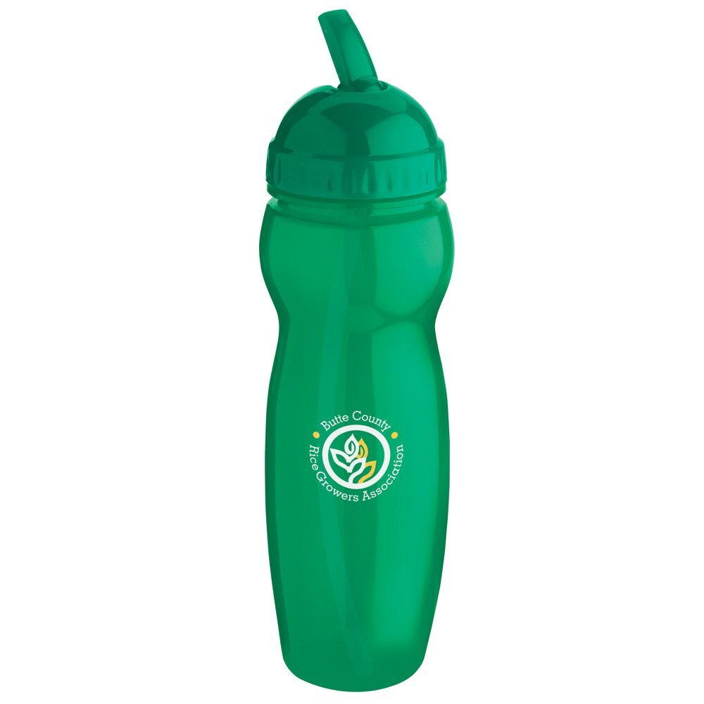 Translucent Water Bottle, 22oz., BPA Free