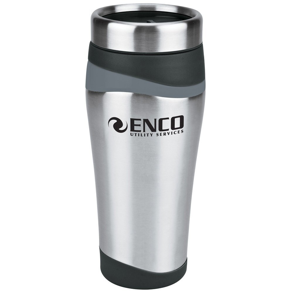 Color Touch Two-Tone Stainless Tumbler, 16oz.