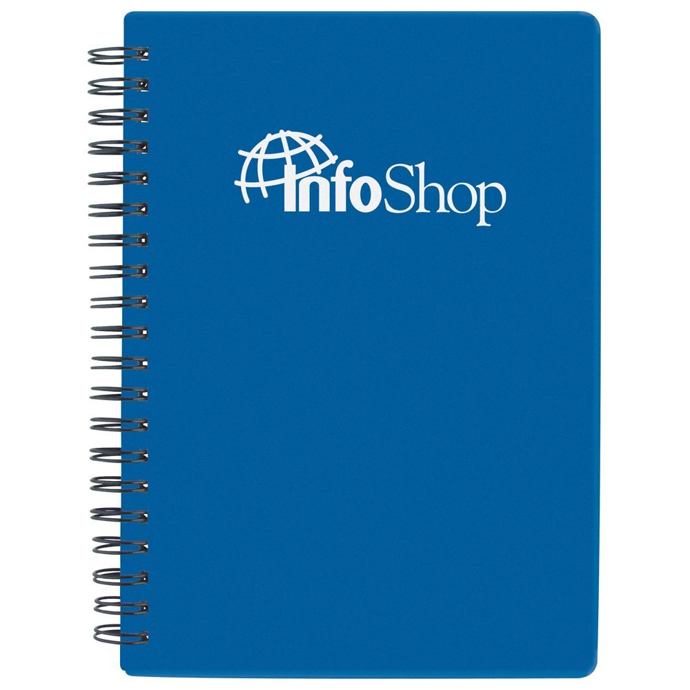 "Zip Notebook, 5-1/2"" x 7"""