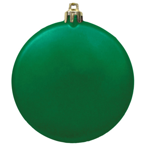 """Flat Round Unbreakable Ornament, 3"""""""