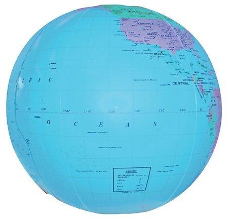 "Globe Beach Ball, 16"""