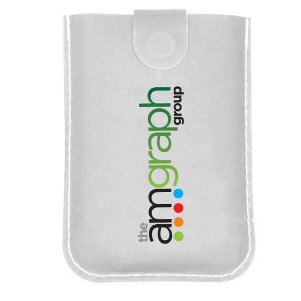RFID Pull-Out Card Holder, Full Color Imprint