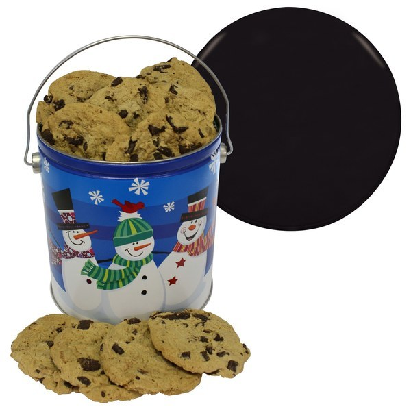 One Gallon Chocolate Chip Cookie Tin