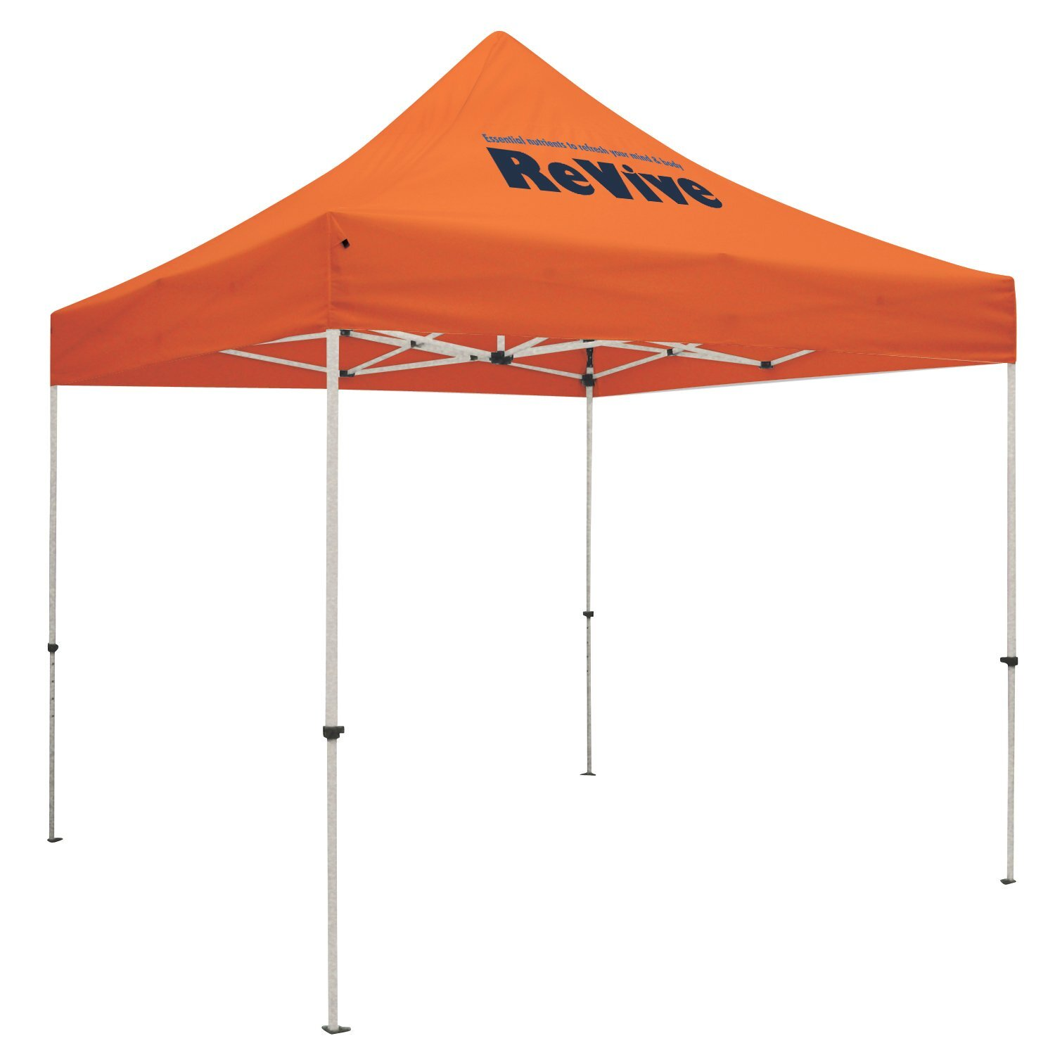 ShowStopper™ Standard 10' Square Event Tent, One Location Full Color Imprint