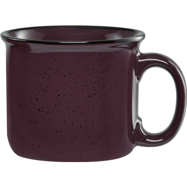 Speckled Ceramic Camper Mug, 14oz.