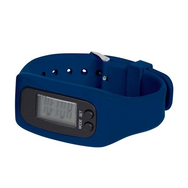 Digital LCD Pedometer Watch in Case