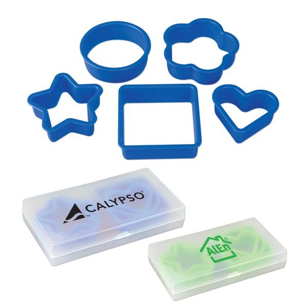 Five Piece Cookie Cutter Set