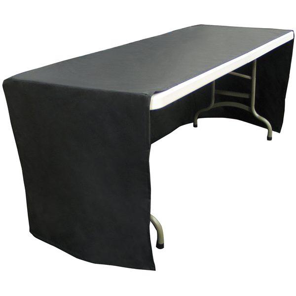 Decobrite™ Nylon Table Cover, Three-Sided, 8' - Full Color Front Imprint