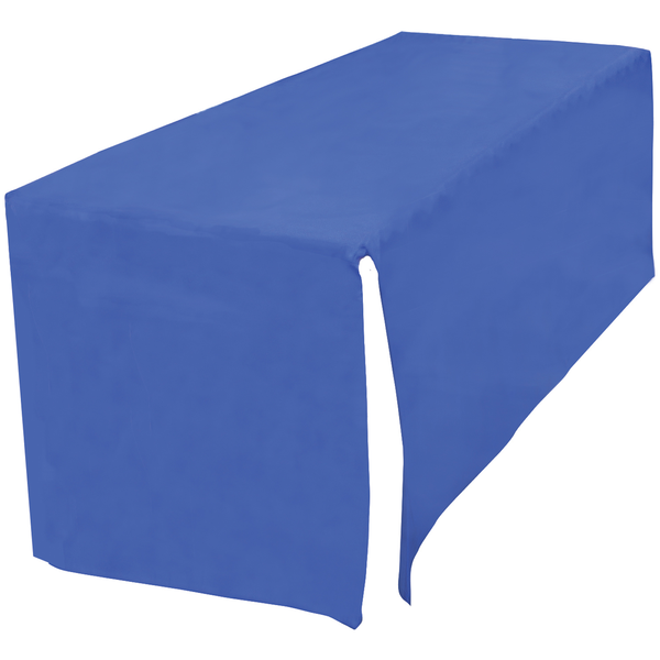 Decobrite™ Nylon Table Cover, Four-Sided, 8' - Full Color Front Imprint