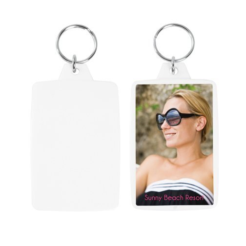 Color Snap-In Photo Keytag