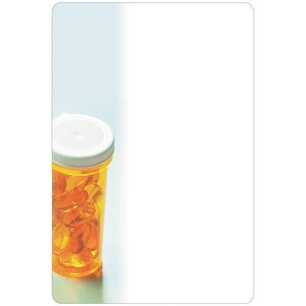 """Pill Bottle Memo Board w/ Magnet, 5-1/2"""" x 8-1/4"""""""