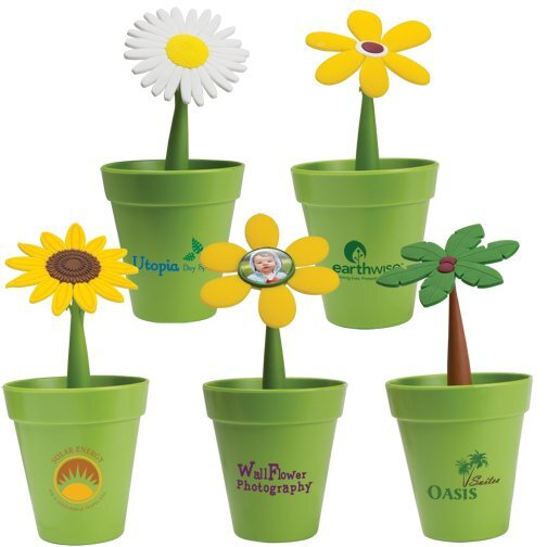 Flower Pot Desk Set